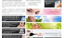 Weboldal készítés a Janssen Cosmeceutical részére