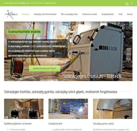 weboldal készítés - icetech - weboldalak-keszitese.hu