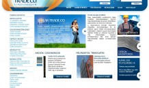 Weboldal készítés a Solartrade Kft-nek