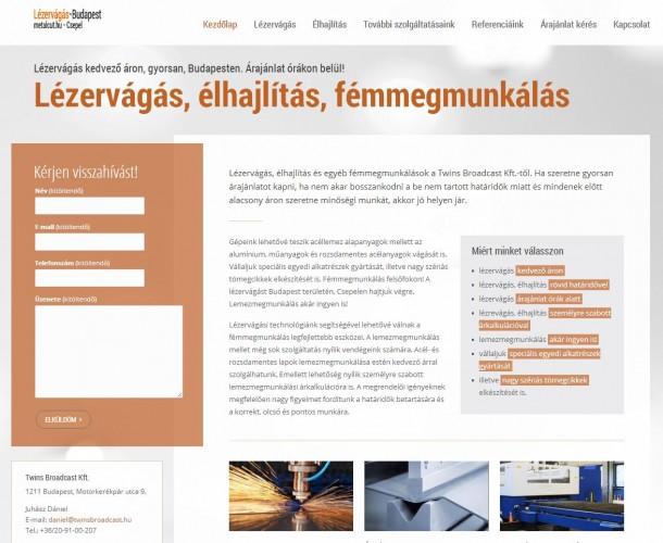 lezervagas-weboldal-keszites